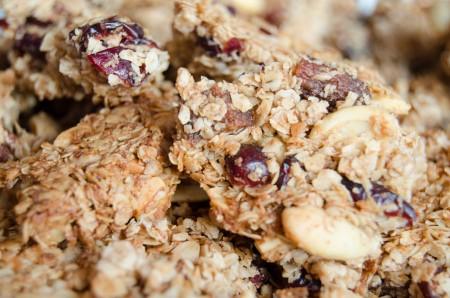 Crunchy chunks of granola recipe