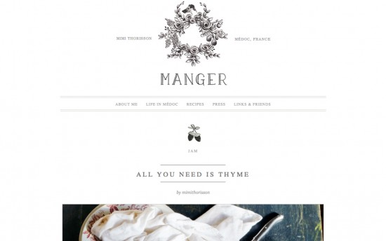 Manger by Mimi Thorisson